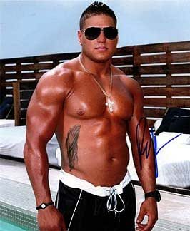 RONNIE ORTIZ-MAGRO (Jersey Shore) 8x10 Celebrity Photo Signed In ...