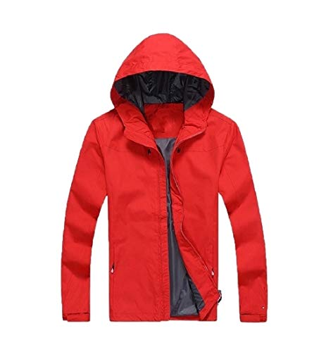 Men Outwear Againg Windproof Solid Trench Jackets Coat Red Oversized Pizex Cnq7dnUx