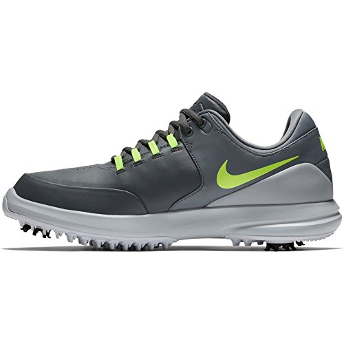 - NIKE Men's Golf Air Zoom Accurate Shoes, Dark Grey/Volt-Cool Grey-Wolf Grey, 8 M US