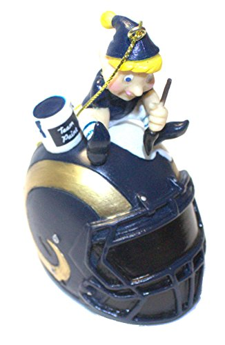 Los Angeles Rams Elf Painting Ornament