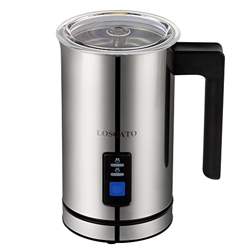 LOSCATO Automatic Electric Milk Frother and Warmer (250ml) (Milk Cooker Automatic compare prices)