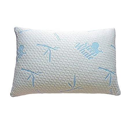 Sleep Whale Shredded Bamboo Memory Foam Pillow