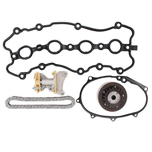 NewYall Pack of 5 Camshaft adjuster Chain Tensioner Gasket Repair Kit Audi A4 Quattro Camshaft