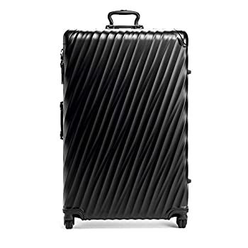 Image of TUMI - 19 Degree Worldwide Trip Packing Case Large Suitcase - Hardside Luggage for Men and Women - Matte Black Luggage