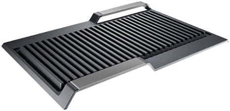 Siemens HZ390522 - Grill metálico para zona flex inducción (710 g, 1.06 kg)