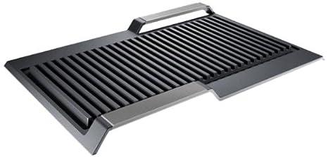 Siemens HZ390522 - Grill metálico para zona flex inducción (710 g ...