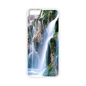"WJHSSB Cover Shell Phone Case Waterfall For iPhone 6 Plus (5.5"")"