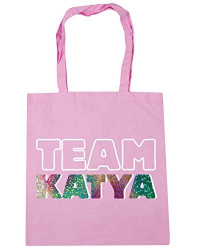 katya Tote x38cm Bag 10 Team Classic 42cm Beach Gym Shopping litres Pink HippoWarehouse 1Oaxw5