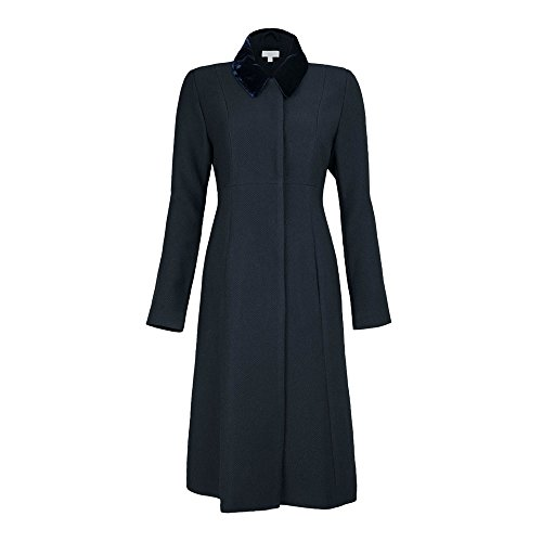 JOJO MAMAN BÉBÉ Navy Maternity Dress Coat by JOJO MAMAN BÉBÉ