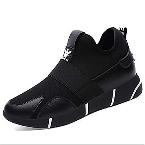 TTSHOES Plateau Black Donna CN37 Argento US7 Sneakers Nero UK5 Scarpe 5 EU37 Per PU Primavera Poliuretano Comoda 4S4qwB