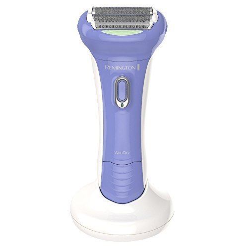 Price comparison product image mington Women's Ultimate Shower Bundle: Wet & Dry Women's Rechargeable Electric Foil Shaver/trimmer with dual blades & pivoting head and a Advanced Facial Cleansing Brush