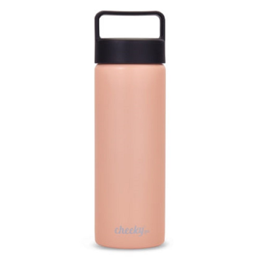 64cc11f71b Amazon.com : Cheeky Go Insulated Stainless Steel Bottle with Screw Lid :  Sports & Outdoors