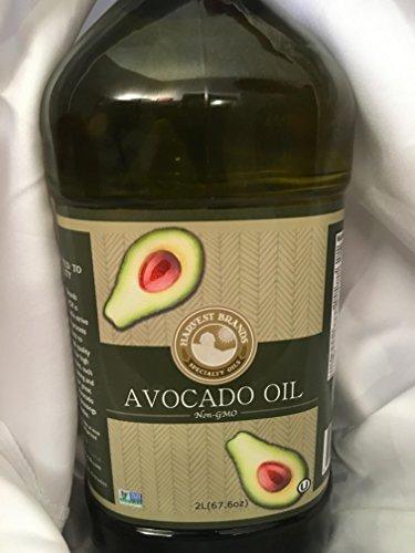 Harvest Brands Non GMO Avocado Cooking, Baking Oil - 2 liter by Harvest Brands (Image #2)