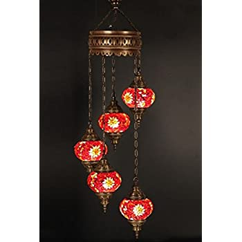 Chandelier ceiling lights turkish lamps hanging mosaic lights chandelier ceiling lights turkish lamps hanging mosaic lights pendant red glass aloadofball Image collections