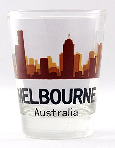 Melbourne Australia Sunset Skyline Shot - Melbourne Glasses
