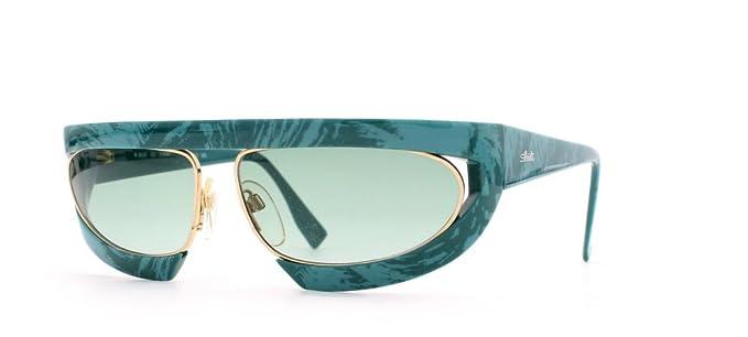 Silhouette - Gafas de sol - para mujer Verde verde: Amazon ...