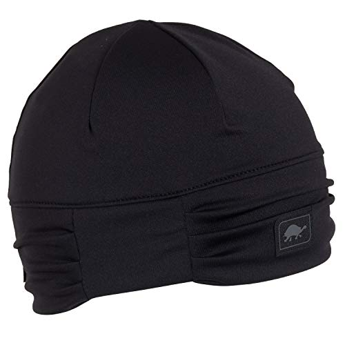 - Turtle Fur Comfort Shell Shimmy Queen Ruched Beanie Black