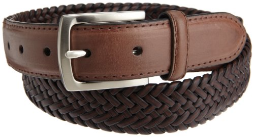 Dockers Men's Tubular Stretch Braided Belt