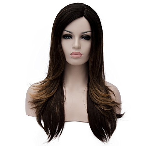 Fashion Elegant Capless Straight Highlight