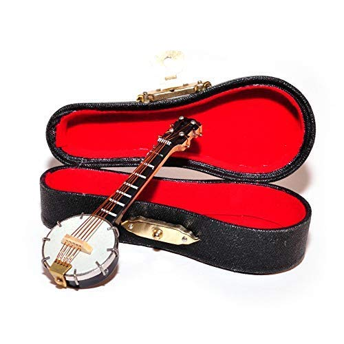 (Melody Jane Dollhouse Banjo Miniature Music Room Bar School Instrumen)