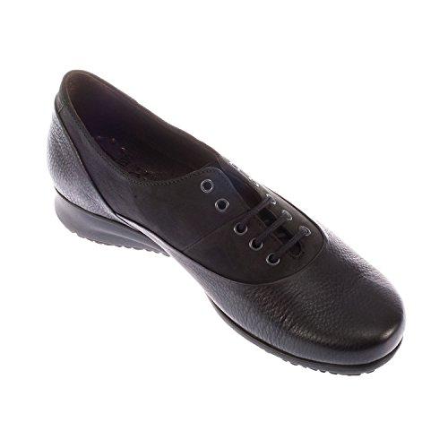 Mephisto Las Mujeres De Fiorenza piel encaje hasta Shoe (f1713) negro