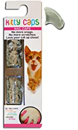 Kitty Caps Nails Size:Medium Color:Clear