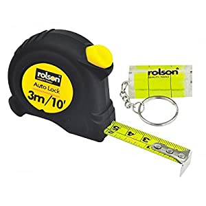 Rolson Tape Measure, 3 m x 16 mm