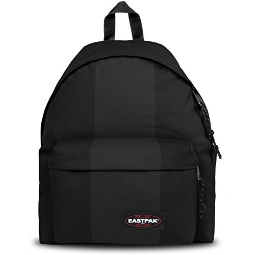 Zip Pak (Eastpak Black Rubber Padded Pak'r Backpack)
