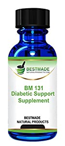 Diabetic Support Supplement Natural Remedy (BM131)