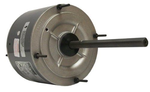 Fasco D7909 5.6-Inch Condenser Fan Motor, 1/4 HP, 208-230 Volts, 1075 RPM, 1 Speed, 1.8 Amps, Totally Enclosed, Reversible Rotation, Ball (0.25 Hp Fan Motor)