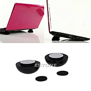 Zjzhao about Laptop Notebook Cool Ball Cooler Stand + Skidproof Pad