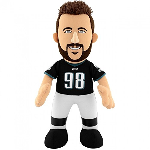 【楽天スーパーセール】 NFL Philadelphia Eagles Connor Kids Philadelphia Connor NFL Barwin Plush Figure、10インチ、ブラック B014PY75HC, 【創業100年】 ひめじやネット通販:9e5b3e39 --- movellplanejado.com.br