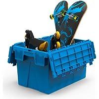 Caixa Organizadora ALC 64L - 600x400x370 mm Cor: Azul Claro