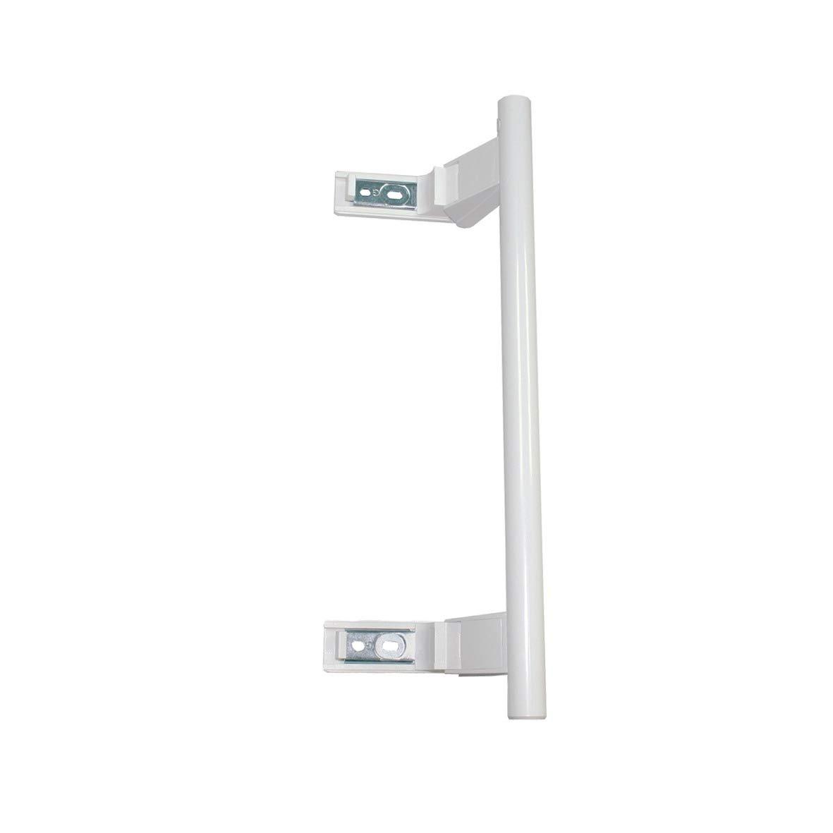Pomo de puerta en blanco, barra, para neveras, congeladores y equipos combinados de nevera y congelador: Amazon.es: Grandes electrodomésticos