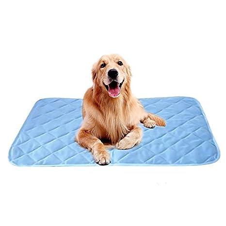 XGZ Alfombrilla de refrigeración para mascotas, almohadilla de gel frío para mascotas, almohadilla de gel frío para gatos y perros