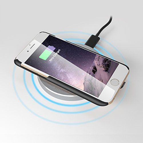 "Iphone 6 And Iphone 6s Wireless Charging: Wireless Charging Case For IPhone 6/6s Plus (5.5"") Built"