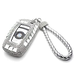 Bling Crystal BMW Key Fob Case Cover