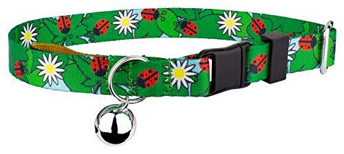 Country Brook Petz | Ladybug Picnic Cat Collar ()