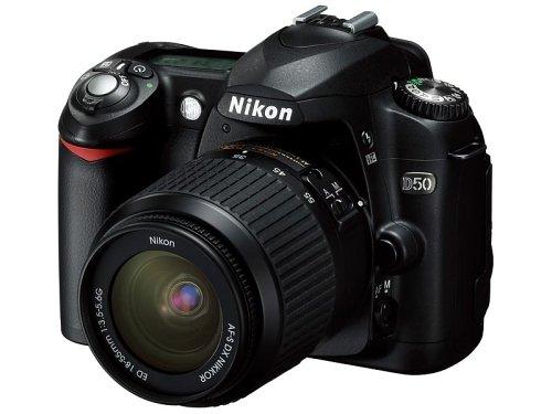 ニコン D50 ブラック レンズキット AFS DXズームニッコール1855mm f3.55.6G ED