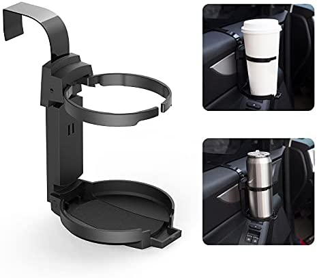 LITTLEMOLE Car Cup Holder, Vehicle Door Cup Holder,...
