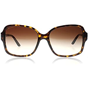 Bvlgari 8125H 504/13 Tortoise and Gold 8125h Square Sunglasses Lens Category 3