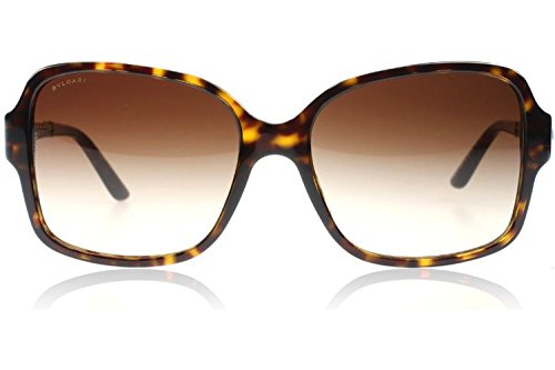 Bvlgari 8125H 504/13 Tortoise and Gold 8125h Square Sunglasses Lens Category - Sunglasses Bvlgari S