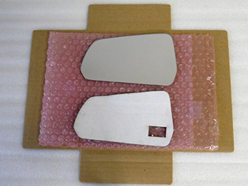 New Replacement Mirror Glass with FULL SIZE ADHESIVE for Ford Mustang Driver Side View Left LH