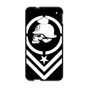 Metal Mulisha theme pattern design For HTC ONE M7 Phone Case