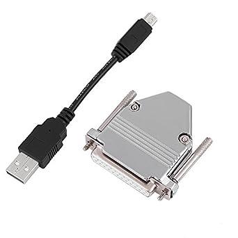 Cable adaptador de USB a paralelo para impresora macho a ...