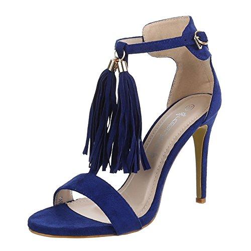 Ital-Design - sandalias mujer Azul - azul