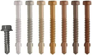 Deckfast Metal - Cedar (#81) - 350 pc. Deck Pack - 1-5/8