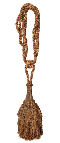 (India House 79049 Tieback Ellora Tassel, 9-Inch, Tuscany Mix)