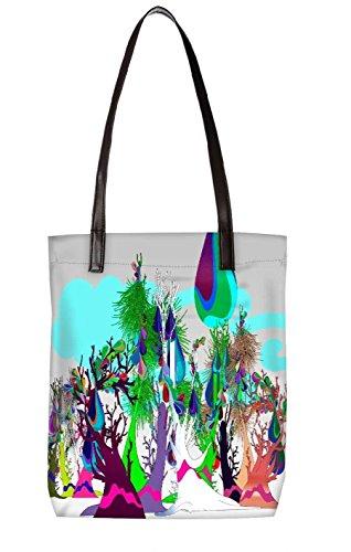 Snoogg Strandtasche, mehrfarbig (mehrfarbig) - LTR-BL-2544-ToteBag