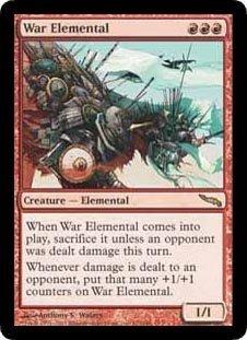War Elemental (Magic the Gathering : Mirrodin #112 Rare)